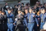 March Past, Remembrance Sunday at the Cenotaph 2016: M40 Richmond Volunteer Police Cadets. Cenotaph, Whitehall, London SW1, London, Greater London, United Kingdom, on 13 November 2016 at 13:19, image #2940