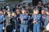 March Past, Remembrance Sunday at the Cenotaph 2016: M40 Richmond Volunteer Police Cadets. Cenotaph, Whitehall, London SW1, London, Greater London, United Kingdom, on 13 November 2016 at 13:19, image #2941