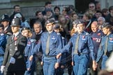 March Past, Remembrance Sunday at the Cenotaph 2016: M40 Richmond Volunteer Police Cadets. Cenotaph, Whitehall, London SW1, London, Greater London, United Kingdom, on 13 November 2016 at 13:19, image #2942