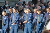 March Past, Remembrance Sunday at the Cenotaph 2016: M40 Richmond Volunteer Police Cadets. Cenotaph, Whitehall, London SW1, London, Greater London, United Kingdom, on 13 November 2016 at 13:19, image #2943