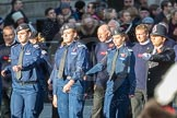 March Past, Remembrance Sunday at the Cenotaph 2016: M40 Richmond Volunteer Police Cadets. Cenotaph, Whitehall, London SW1, London, Greater London, United Kingdom, on 13 November 2016 at 13:19, image #2944