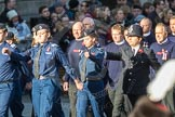 March Past, Remembrance Sunday at the Cenotaph 2016: M41 Royal National Lifeboat Institution. Cenotaph, Whitehall, London SW1, London, Greater London, United Kingdom, on 13 November 2016 at 13:19, image #2945