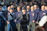 March Past, Remembrance Sunday at the Cenotaph 2016: M41 Royal National Lifeboat Institution. Cenotaph, Whitehall, London SW1, London, Greater London, United Kingdom, on 13 November 2016 at 13:19, image #2948