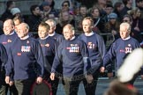 March Past, Remembrance Sunday at the Cenotaph 2016: M41 Royal National Lifeboat Institution. Cenotaph, Whitehall, London SW1, London, Greater London, United Kingdom, on 13 November 2016 at 13:19, image #2955