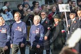 March Past, Remembrance Sunday at the Cenotaph 2016: M42 SPPW - Friends of Polish Veterans Association. Cenotaph, Whitehall, London SW1, London, Greater London, United Kingdom, on 13 November 2016 at 13:19, image #2958
