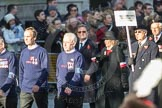 March Past, Remembrance Sunday at the Cenotaph 2016: M42 SPPW - Friends of Polish Veterans Association. Cenotaph, Whitehall, London SW1, London, Greater London, United Kingdom, on 13 November 2016 at 13:19, image #2959