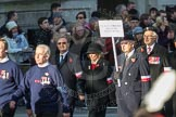 March Past, Remembrance Sunday at the Cenotaph 2016: M42 SPPW - Friends of Polish Veterans Association. Cenotaph, Whitehall, London SW1, London, Greater London, United Kingdom, on 13 November 2016 at 13:19, image #2960