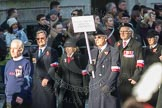 March Past, Remembrance Sunday at the Cenotaph 2016: M42 SPPW - Friends of Polish Veterans Association. Cenotaph, Whitehall, London SW1, London, Greater London, United Kingdom, on 13 November 2016 at 13:19, image #2961