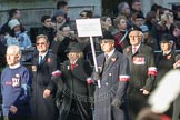March Past, Remembrance Sunday at the Cenotaph 2016: M42 SPPW - Friends of Polish Veterans Association. Cenotaph, Whitehall, London SW1, London, Greater London, United Kingdom, on 13 November 2016 at 13:19, image #2962