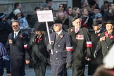 March Past, Remembrance Sunday at the Cenotaph 2016: M42 SPPW - Friends of Polish Veterans Association. Cenotaph, Whitehall, London SW1, London, Greater London, United Kingdom, on 13 November 2016 at 13:19, image #2963