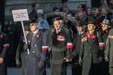 March Past, Remembrance Sunday at the Cenotaph 2016: M42 SPPW - Friends of Polish Veterans Association. Cenotaph, Whitehall, London SW1, London, Greater London, United Kingdom, on 13 November 2016 at 13:19, image #2966