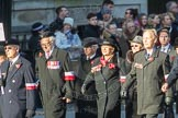 March Past, Remembrance Sunday at the Cenotaph 2016: M42 SPPW - Friends of Polish Veterans Association. Cenotaph, Whitehall, London SW1, London, Greater London, United Kingdom, on 13 November 2016 at 13:19, image #2968