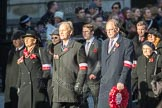 March Past, Remembrance Sunday at the Cenotaph 2016: M42 SPPW - Friends of Polish Veterans Association. Cenotaph, Whitehall, London SW1, London, Greater London, United Kingdom, on 13 November 2016 at 13:19, image #2970