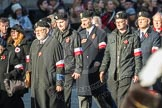 March Past, Remembrance Sunday at the Cenotaph 2016: M42 SPPW - Friends of Polish Veterans Association. Cenotaph, Whitehall, London SW1, London, Greater London, United Kingdom, on 13 November 2016 at 13:19, image #2977