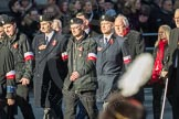 March Past, Remembrance Sunday at the Cenotaph 2016: M42 SPPW - Friends of Polish Veterans Association. Cenotaph, Whitehall, London SW1, London, Greater London, United Kingdom, on 13 November 2016 at 13:19, image #2978