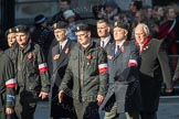 March Past, Remembrance Sunday at the Cenotaph 2016: M42 SPPW - Friends of Polish Veterans Association. Cenotaph, Whitehall, London SW1, London, Greater London, United Kingdom, on 13 November 2016 at 13:19, image #2981