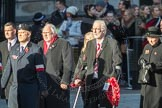 March Past, Remembrance Sunday at the Cenotaph 2016: M42 SPPW - Friends of Polish Veterans Association. Cenotaph, Whitehall, London SW1, London, Greater London, United Kingdom, on 13 November 2016 at 13:19, image #2986