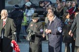 March Past, Remembrance Sunday at the Cenotaph 2016: M44 Veterans of War. Cenotaph, Whitehall, London SW1, London, Greater London, United Kingdom, on 13 November 2016 at 13:19, image #2991
