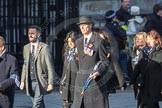 March Past, Remembrance Sunday at the Cenotaph 2016: M46 Commonwealth War Graves Commission. Cenotaph, Whitehall, London SW1, London, Greater London, United Kingdom, on 13 November 2016 at 13:19, image #2998