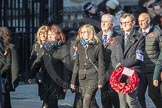 March Past, Remembrance Sunday at the Cenotaph 2016: M46 Commonwealth War Graves Commission. Cenotaph, Whitehall, London SW1, London, Greater London, United Kingdom, on 13 November 2016 at 13:19, image #3000