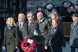 March Past, Remembrance Sunday at the Cenotaph 2016: M46 Commonwealth War Graves Commission. Cenotaph, Whitehall, London SW1, London, Greater London, United Kingdom, on 13 November 2016 at 13:20, image #3003