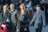 March Past, Remembrance Sunday at the Cenotaph 2016: M46 Commonwealth War Graves Commission. Cenotaph, Whitehall, London SW1, London, Greater London, United Kingdom, on 13 November 2016 at 13:20, image #3004