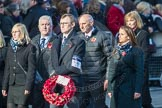 March Past, Remembrance Sunday at the Cenotaph 2016: M46 Commonwealth War Graves Commission. Cenotaph, Whitehall, London SW1, London, Greater London, United Kingdom, on 13 November 2016 at 13:20, image #3005