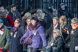 March Past, Remembrance Sunday at the Cenotaph 2016: M49 The British Evacuees Association. Cenotaph, Whitehall, London SW1, London, Greater London, United Kingdom, on 13 November 2016 at 13:20, image #3010