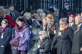 March Past, Remembrance Sunday at the Cenotaph 2016: M49 The British Evacuees Association. Cenotaph, Whitehall, London SW1, London, Greater London, United Kingdom, on 13 November 2016 at 13:20, image #3012