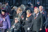 March Past, Remembrance Sunday at the Cenotaph 2016: M49 The British Evacuees Association. Cenotaph, Whitehall, London SW1, London, Greater London, United Kingdom, on 13 November 2016 at 13:20, image #3014