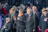 March Past, Remembrance Sunday at the Cenotaph 2016: M49 The British Evacuees Association. Cenotaph, Whitehall, London SW1, London, Greater London, United Kingdom, on 13 November 2016 at 13:20, image #3015