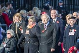 March Past, Remembrance Sunday at the Cenotaph 2016: M49 The British Evacuees Association. Cenotaph, Whitehall, London SW1, London, Greater London, United Kingdom, on 13 November 2016 at 13:20, image #3016