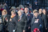 March Past, Remembrance Sunday at the Cenotaph 2016: M49 The British Evacuees Association. Cenotaph, Whitehall, London SW1, London, Greater London, United Kingdom, on 13 November 2016 at 13:20, image #3017