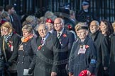 March Past, Remembrance Sunday at the Cenotaph 2016: M49 The British Evacuees Association. Cenotaph, Whitehall, London SW1, London, Greater London, United Kingdom, on 13 November 2016 at 13:20, image #3018