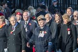 March Past, Remembrance Sunday at the Cenotaph 2016: M49 The British Evacuees Association. Cenotaph, Whitehall, London SW1, London, Greater London, United Kingdom, on 13 November 2016 at 13:20, image #3019