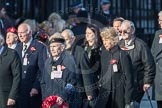 March Past, Remembrance Sunday at the Cenotaph 2016: M49 The British Evacuees Association. Cenotaph, Whitehall, London SW1, London, Greater London, United Kingdom, on 13 November 2016 at 13:20, image #3020