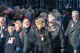March Past, Remembrance Sunday at the Cenotaph 2016: M49 The British Evacuees Association. Cenotaph, Whitehall, London SW1, London, Greater London, United Kingdom, on 13 November 2016 at 13:20, image #3022