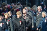 March Past, Remembrance Sunday at the Cenotaph 2016: M49 The British Evacuees Association. Cenotaph, Whitehall, London SW1, London, Greater London, United Kingdom, on 13 November 2016 at 13:20, image #3024