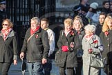 March Past, Remembrance Sunday at the Cenotaph 2016: M49 The British Evacuees Association. Cenotaph, Whitehall, London SW1, London, Greater London, United Kingdom, on 13 November 2016 at 13:20, image #3031