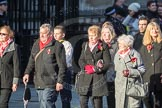 March Past, Remembrance Sunday at the Cenotaph 2016: M49 The British Evacuees Association. Cenotaph, Whitehall, London SW1, London, Greater London, United Kingdom, on 13 November 2016 at 13:20, image #3032