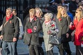 March Past, Remembrance Sunday at the Cenotaph 2016: M49 The British Evacuees Association. Cenotaph, Whitehall, London SW1, London, Greater London, United Kingdom, on 13 November 2016 at 13:20, image #3033