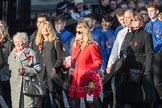 March Past, Remembrance Sunday at the Cenotaph 2016: M49 The British Evacuees Association. Cenotaph, Whitehall, London SW1, London, Greater London, United Kingdom, on 13 November 2016 at 13:20, image #3035
