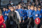 March Past, Remembrance Sunday at the Cenotaph 2016: M50 The Boys' Brigade. Cenotaph, Whitehall, London SW1, London, Greater London, United Kingdom, on 13 November 2016 at 13:20, image #3039