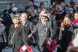 March Past, Remembrance Sunday at the Cenotaph 2016: M52 Munitions Workers Association. Cenotaph, Whitehall, London SW1, London, Greater London, United Kingdom, on 13 November 2016 at 13:20, image #3063