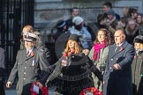 March Past, Remembrance Sunday at the Cenotaph 2016: M52 Munitions Workers Association. Cenotaph, Whitehall, London SW1, London, Greater London, United Kingdom, on 13 November 2016 at 13:20, image #3066