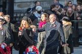 March Past, Remembrance Sunday at the Cenotaph 2016: M52 Munitions Workers Association. Cenotaph, Whitehall, London SW1, London, Greater London, United Kingdom, on 13 November 2016 at 13:20, image #3067