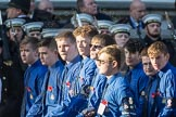 March Past, Remembrance Sunday at the Cenotaph 2016: M50 The Boys' Brigade. Cenotaph, Whitehall, London SW1, London, Greater London, United Kingdom, on 13 November 2016 at 13:20, image #3075