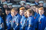 March Past, Remembrance Sunday at the Cenotaph 2016: M50 The Boys' Brigade. Cenotaph, Whitehall, London SW1, London, Greater London, United Kingdom, on 13 November 2016 at 13:20, image #3077