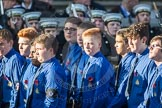 March Past, Remembrance Sunday at the Cenotaph 2016: M50 The Boys' Brigade. Cenotaph, Whitehall, London SW1, London, Greater London, United Kingdom, on 13 November 2016 at 13:20, image #3078
