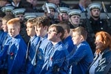 March Past, Remembrance Sunday at the Cenotaph 2016: M50 The Boys' Brigade. Cenotaph, Whitehall, London SW1, London, Greater London, United Kingdom, on 13 November 2016 at 13:20, image #3079